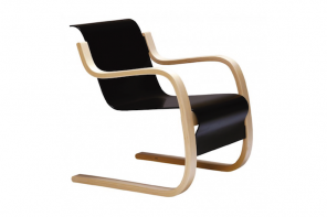 Armchair (cantilever wood)