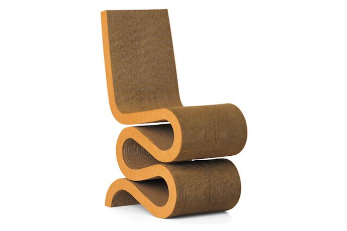 chair cardboard wikiconic